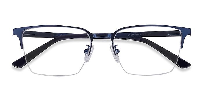 Blue Brink -  Metal Eyeglasses