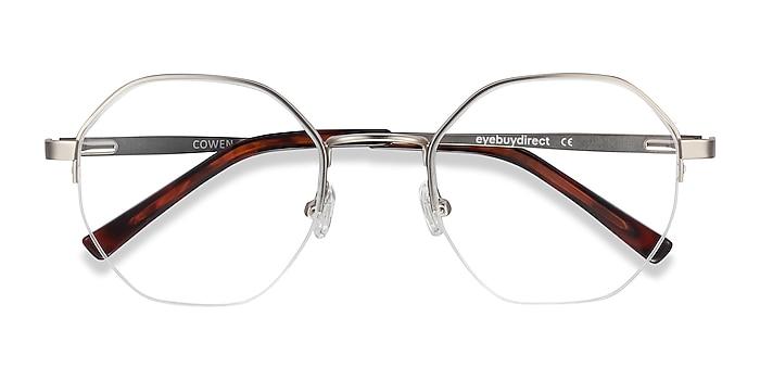 Silver Cowen -  Fashion Metal Eyeglasses