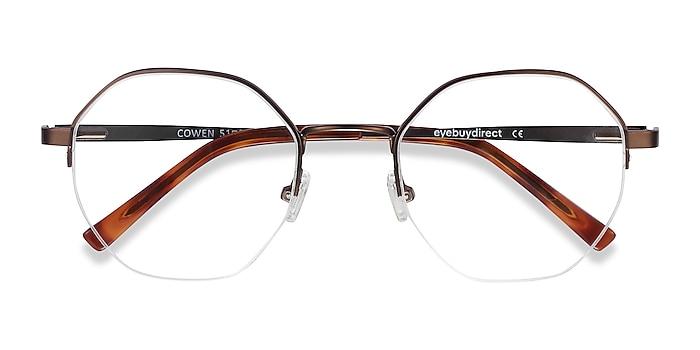 Bronze Cowen -  Fashion Metal Eyeglasses