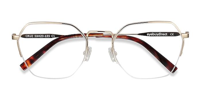 Gold Cruz -  Fashion Metal Eyeglasses