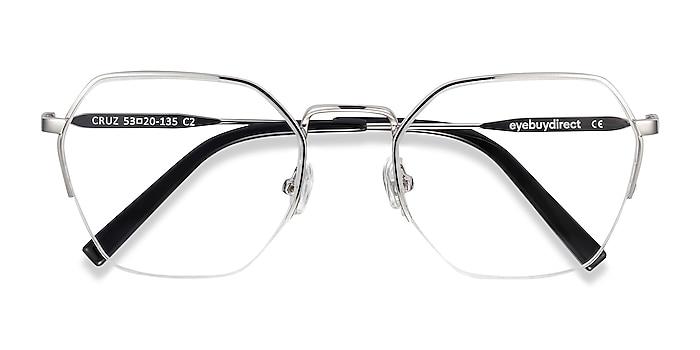 Silver Cruz -  Fashion Metal Eyeglasses