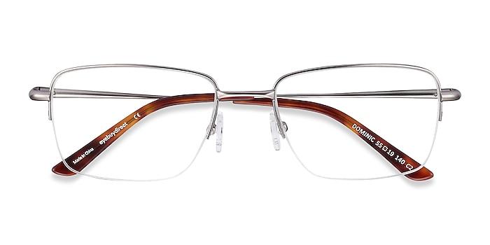 Gunmetal Dominic -  Metal Eyeglasses
