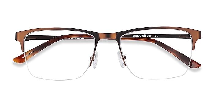 Coffee Jasper -  Metal Eyeglasses