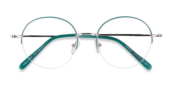 Green & Gold Takashi -  Fashion Metal Eyeglasses