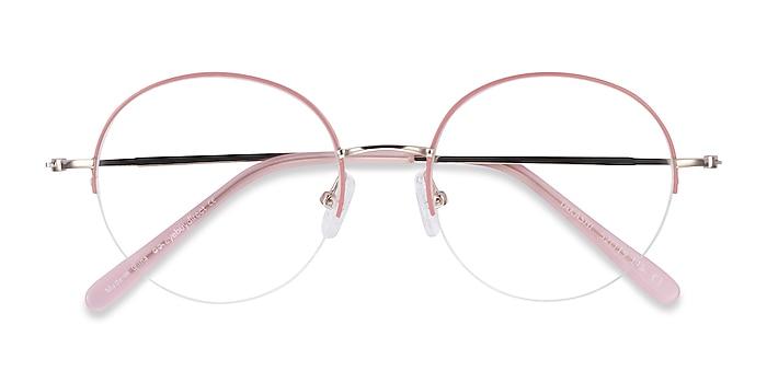 Pink & Gold Takashi -  Fashion Metal Eyeglasses