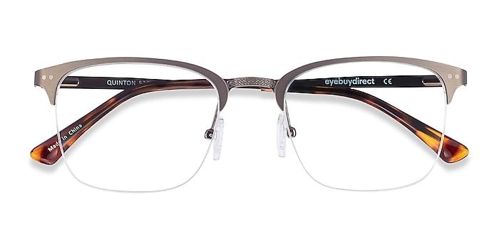 Gunmetal Quinton -  Metal Eyeglasses