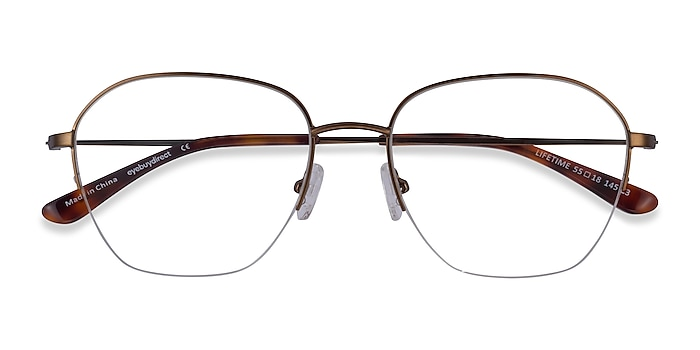 Bronze Lifetime -  Metal Eyeglasses
