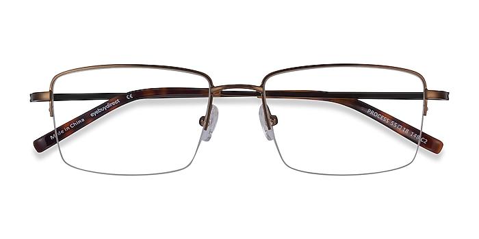 Bronze Process -  Metal Eyeglasses