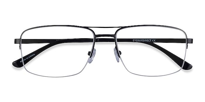 Black Yorkville -  Metal Eyeglasses