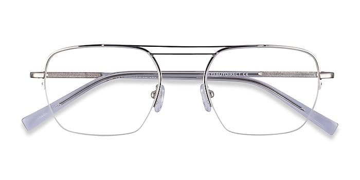 Silver Clear Cabrini -  Métal Lunettes de vue