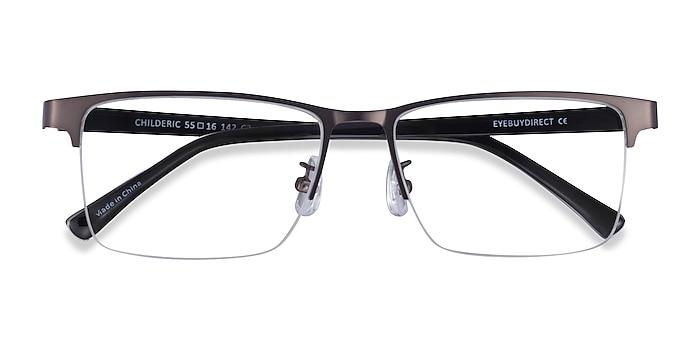 Gunmetal Childeric -  Metal Eyeglasses