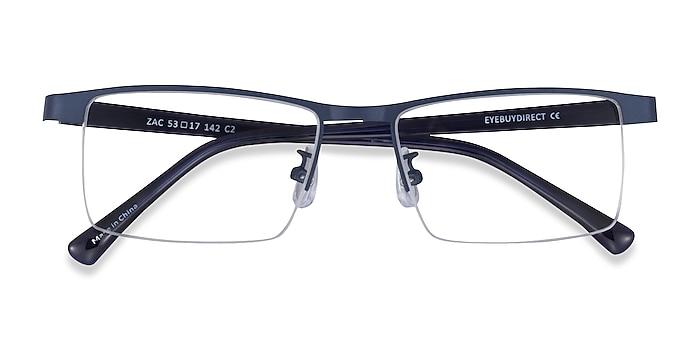 Blue Zac -  Metal Eyeglasses