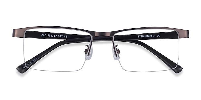 Gunmetal Zac -  Metal Eyeglasses