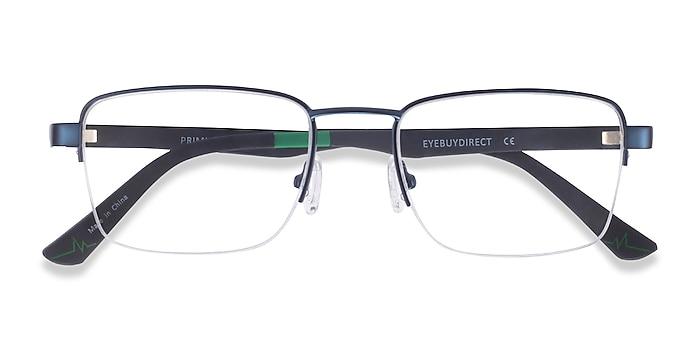 Navy Primus -  Metal Eyeglasses