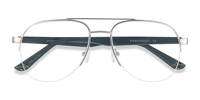 Silver Hydroflux -  Metal Eyeglasses