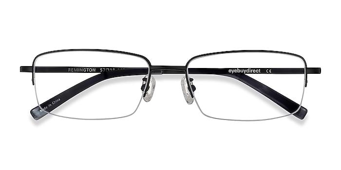 Black Remington -  Lightweight Titanium Eyeglasses