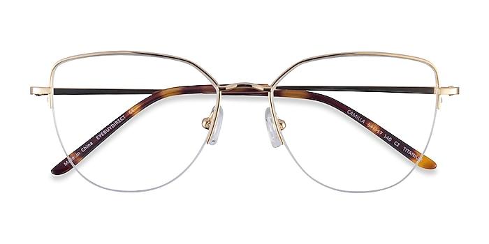 Gold Camilla -  Titanium Eyeglasses