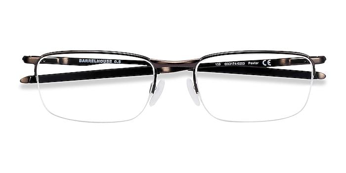 Pewter Oakley Barrelhouse 0.5 -  Metal Eyeglasses