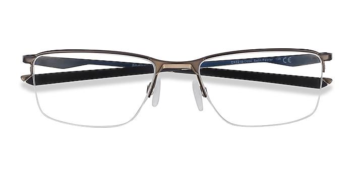 Satin Pewter Oakley Socket 5.5 -  Metal Eyeglasses