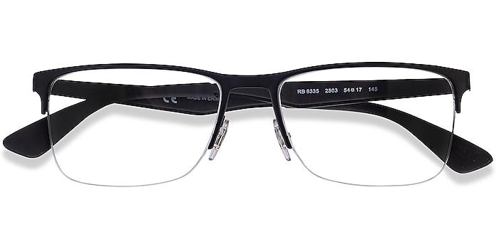 Black Ray-Ban RB6335 -  Geek Metal Eyeglasses