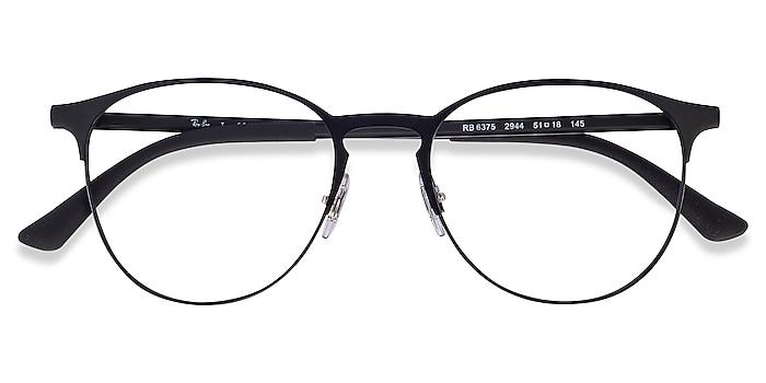 Black Ray-Ban RB6375 -  Classic Metal Eyeglasses