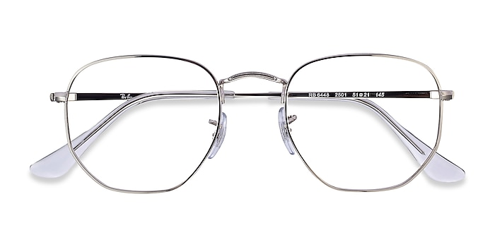 Silver Ray-Ban RB6448 -  Vintage Metal Eyeglasses