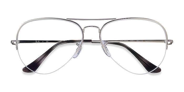Silver Ray-Ban RB6589 -  Vintage Metal Eyeglasses