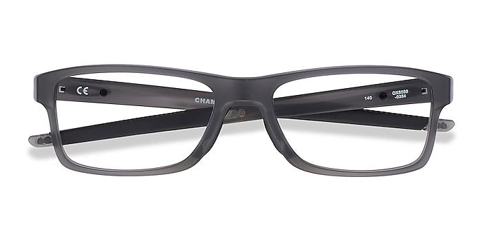 Gray Oakley Chamfer MNP -  Plastic Eyeglasses