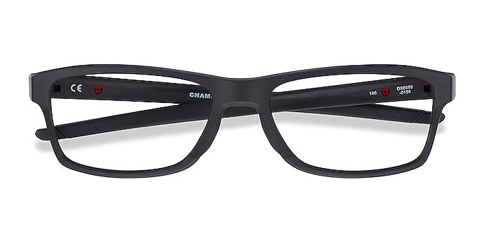 Black Oakley Chamfer MNP -  Plastic Eyeglasses