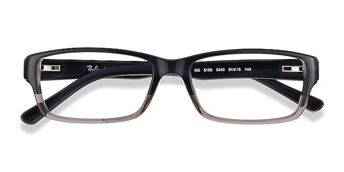 Black & Gray Ray-Ban RB5169 -  Acetate Eyeglasses