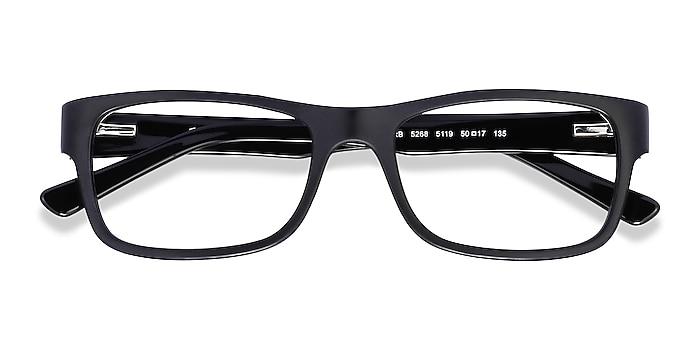 Matte Black Ray-Ban RB5268 -  Acetate Eyeglasses