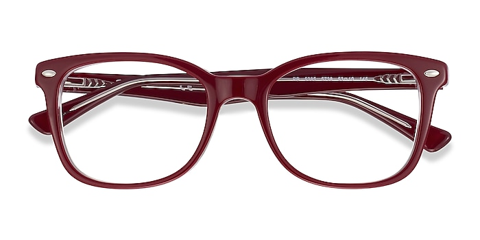 Burgundy Ray-Ban RB5285 -  Acetate Eyeglasses