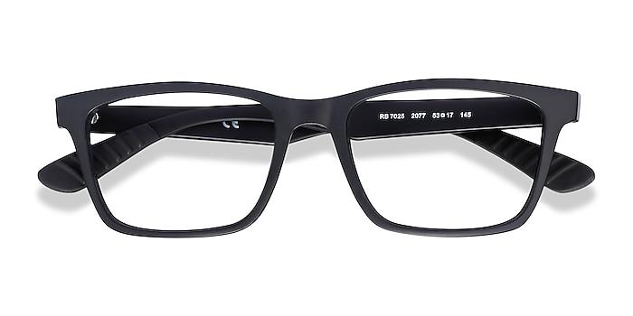 Black Ray-Ban RB7025 -  Plastic Eyeglasses