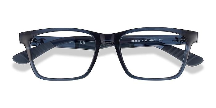 Blue Ray-Ban RB7025 -  Plastic Eyeglasses