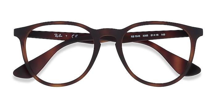 Tortoise Ray-Ban RB7046 -  Lightweight Plastic Eyeglasses