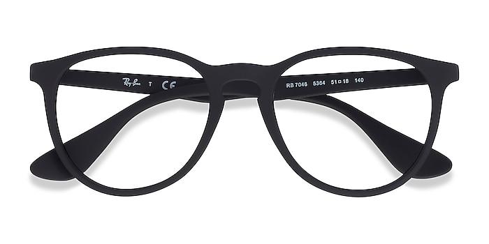 Black Ray-Ban RB7046 -  Lightweight Plastic Eyeglasses