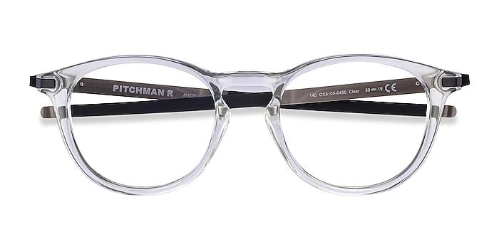 Clear Oakley Pitchman R -  Plastic Eyeglasses