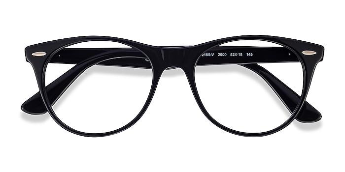 Black Ray-Ban RB2185V -  Acetate Eyeglasses