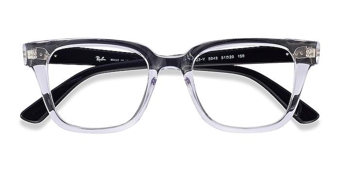 Clear Ray-Ban RB4323V -  Lightweight Plastic Eyeglasses