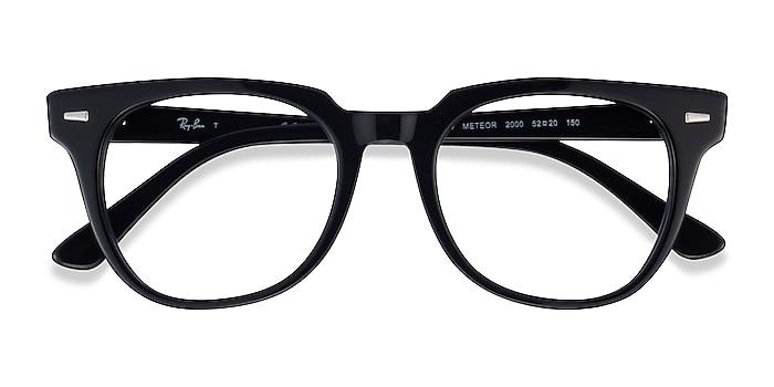 Black Ray-Ban Meteor -  Geek Acetate Eyeglasses
