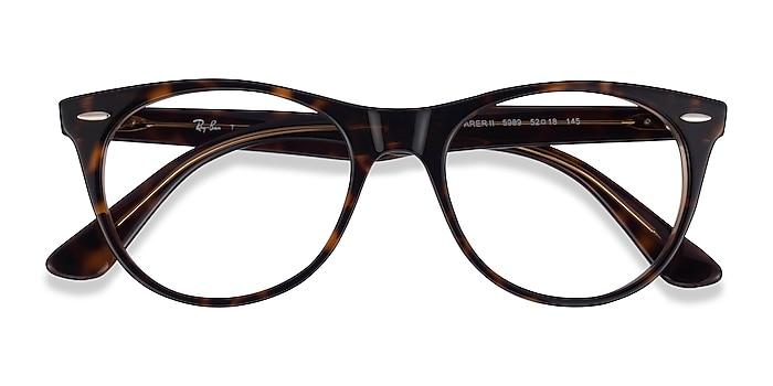 Leopard Ray-Ban RB2185V -  Acetate Eyeglasses