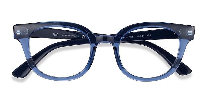 Clear Blue Ray-Ban RB4324V -  Acetate Eyeglasses