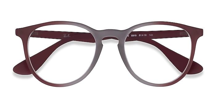 Gray Red Ray-Ban RB7046 -  Plastic Eyeglasses