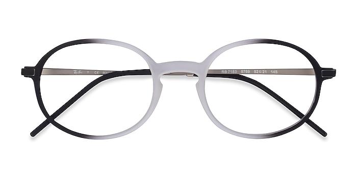 Clear Black Ray-Ban RB7153 -  Metal Eyeglasses