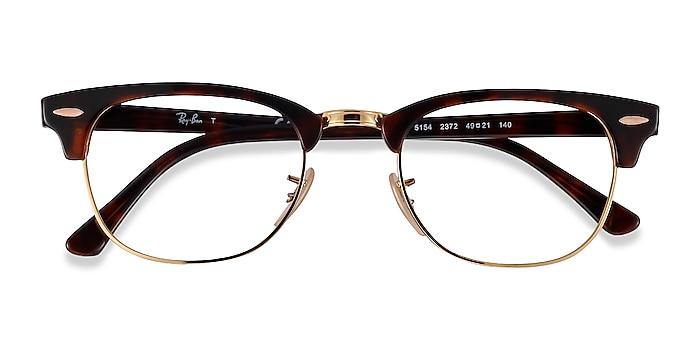 Gold Tortoise Ray-Ban RB5154 -  Acetate, Metal Eyeglasses