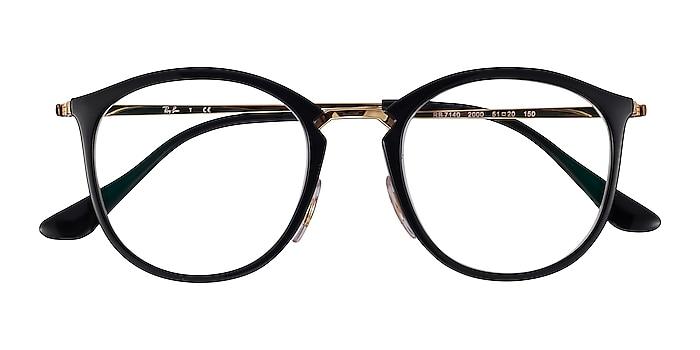 Black Gold Ray-Ban RB7140 -  Plastic, Metal Eyeglasses