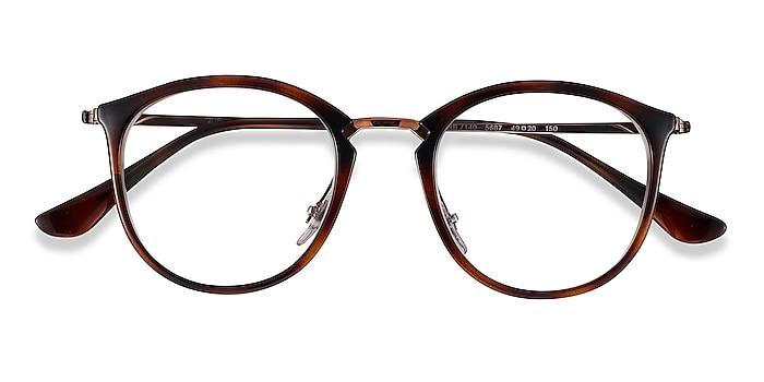 Tortoise Bronze Ray-Ban RB7140 -  Plastic, Metal Eyeglasses