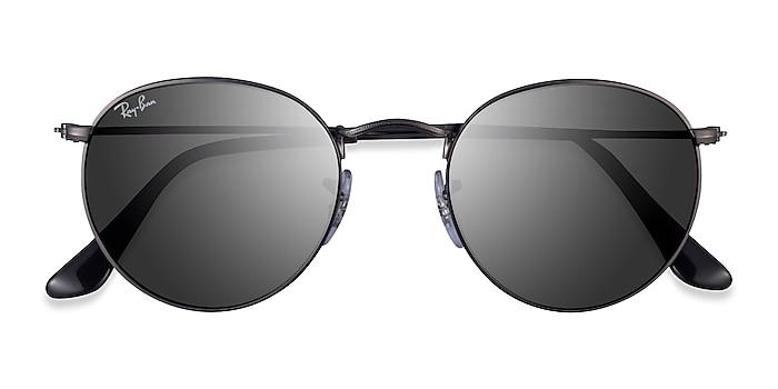 Matte Gunmetal Ray-Ban RB3447 -  Metal Sunglasses