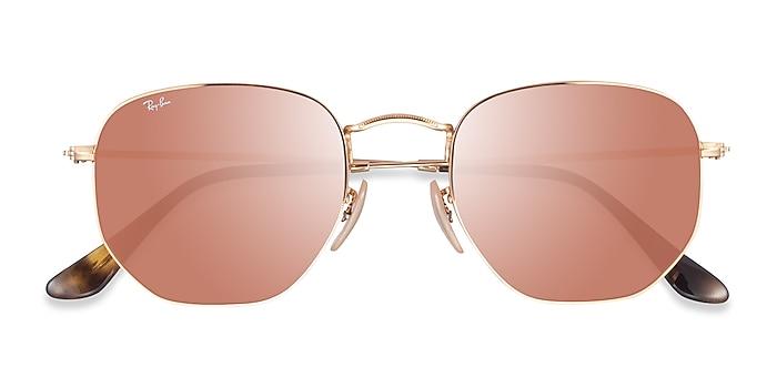 Arista Brown Ray-Ban RB3548N -  Metal Sunglasses