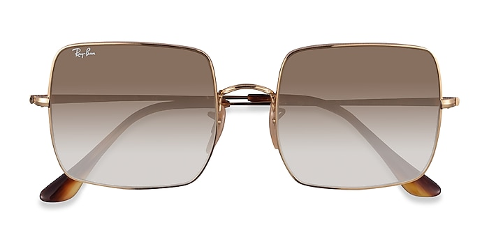 Gold Ray-Ban RB1971 -  Metal Sunglasses